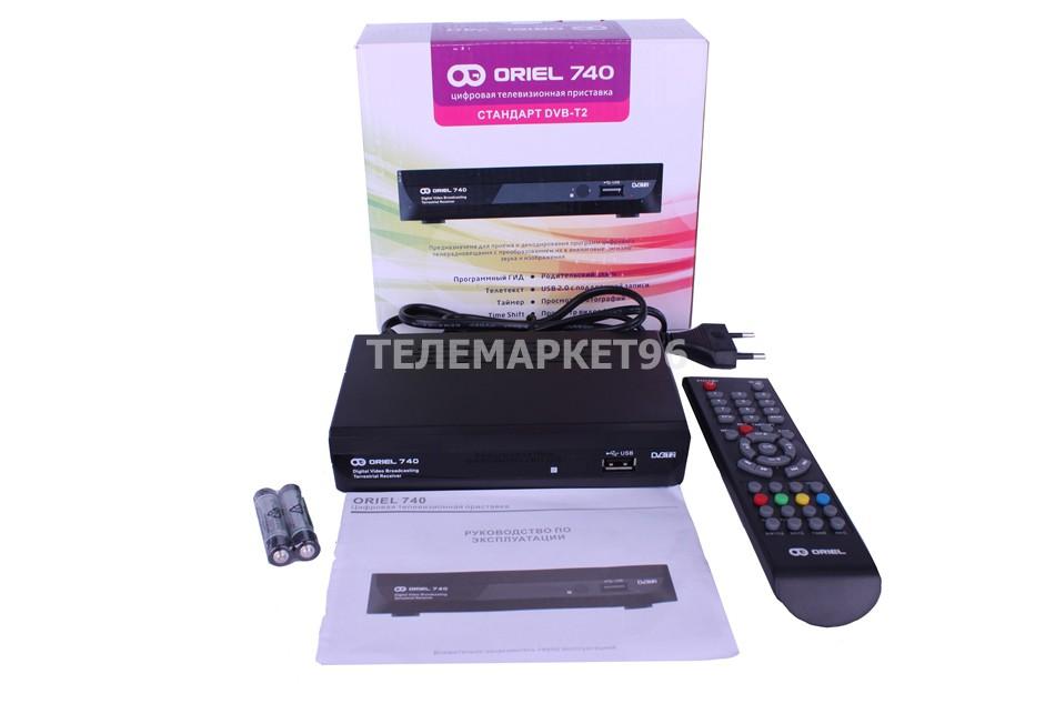 Цифровая эфирная ТВ приставка Oriel 740