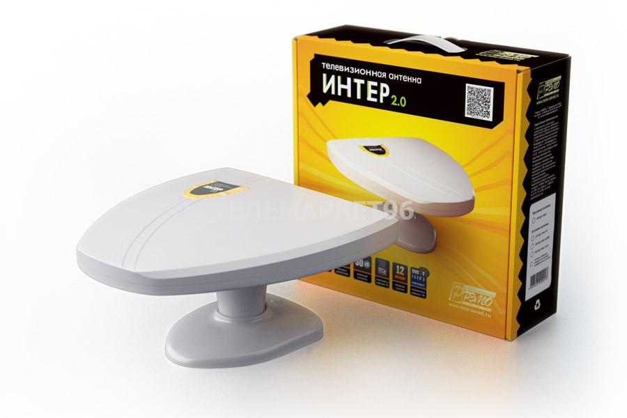 Комнатная эфирная DVB-T2 антенна Интер 2.0