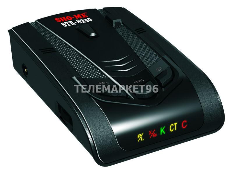 Автомобильный радар-детектор SHO-Me STR-8230