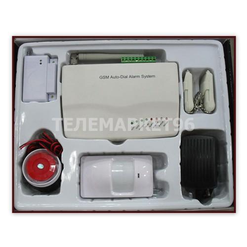GSM сигнализация с радиодатчиками GSM Alarm System – надежная система контроля