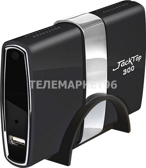 Приставка цифровая для эфирного ТВ с мультимедиа плеером JackTop 300 USB