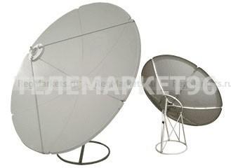 Антенна прямофокусная сегментная стальная d150см SVEC для приема телепрограмм