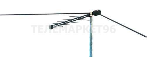Антенна всеволновая с усилителем уличная Дельта H311 A