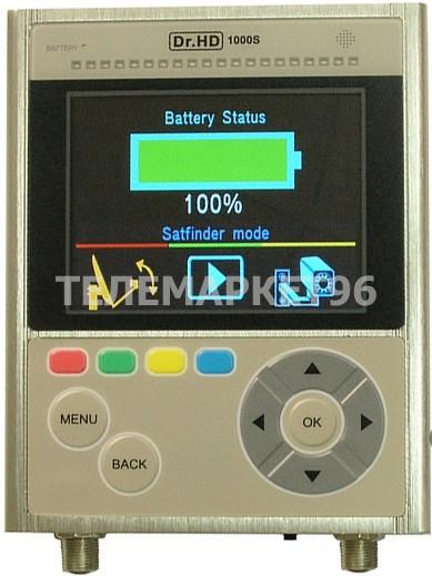 Прибор для настройки антенн с анализатором спектра Dr.HD 1000S