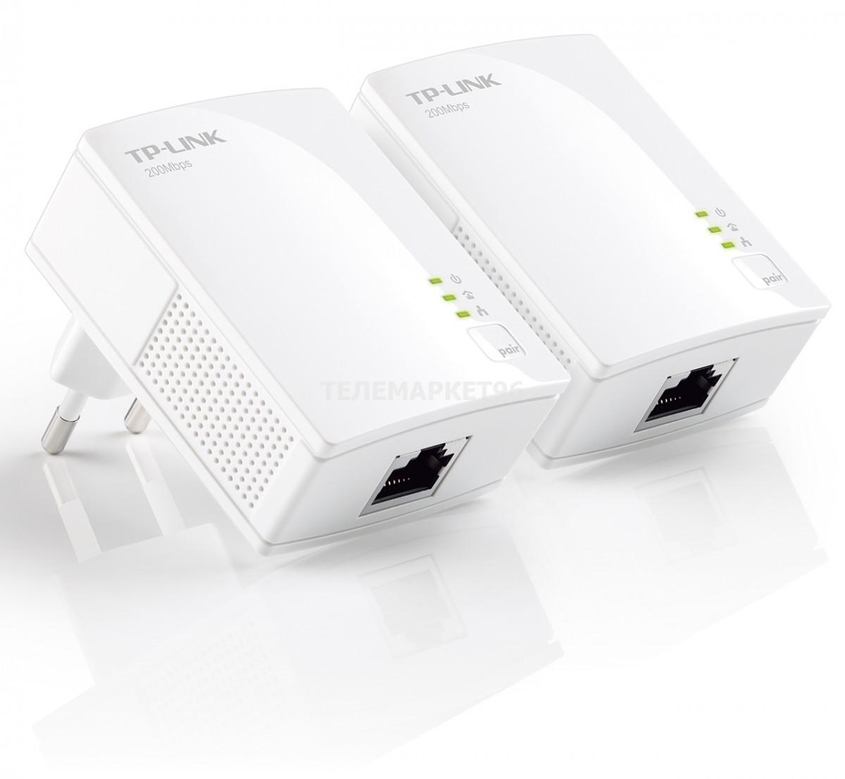 Комплект адаптеров Powerline TL-PA2010KIT