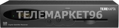 Спутниковый ресивер (ТВ приставка) Телекарта EVO 01 SD