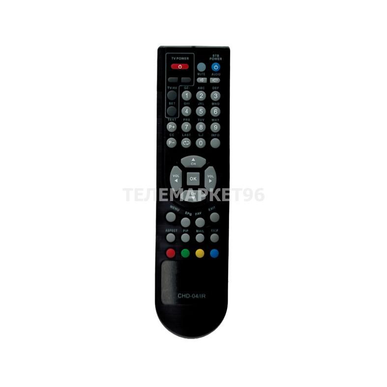 Пульт ДУ для ресиверов Телекарта Континент ТВ CHD-02 CHD-04 EVO 05