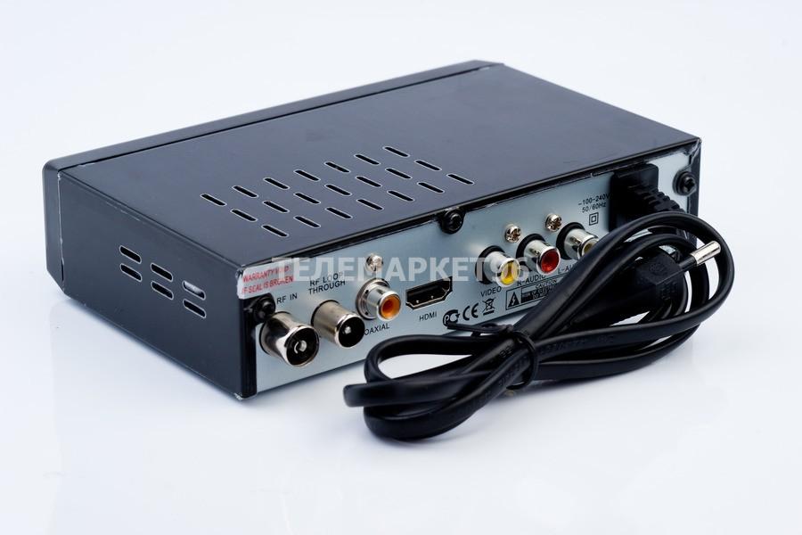 ТВ приставка цифровая эфирная с мультимедиаплеером Telebox HD90