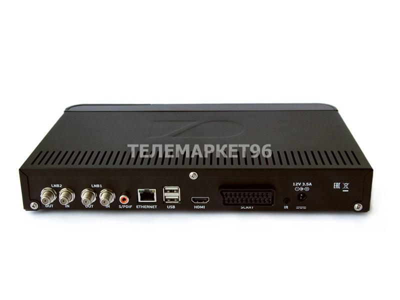 Ресивер Триколор ТВ спутниковый двухтюнерный General Satellite E502 HDD