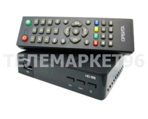 ТВ приставка цифровая эфирная с мультимедиаплеером Орбита HD-916