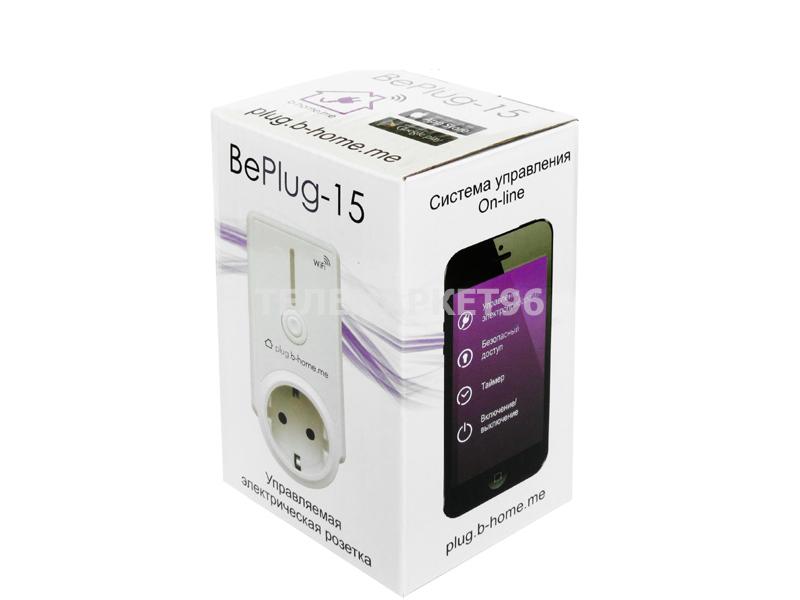 Управляемая Wifi розетка BePlug-15