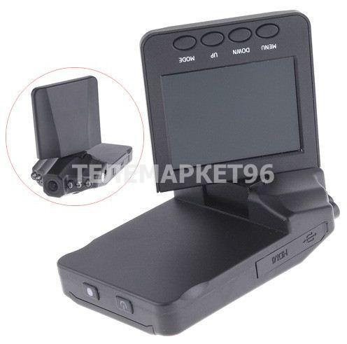 Автомобильный видеорегистратор HD DVR027 Plus